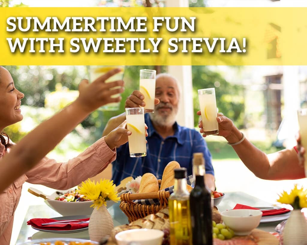Summertime Fun With Sweetly Stevia