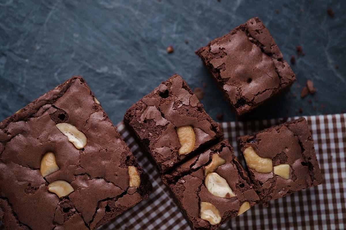 Gluten Free Sweet & Salty Brownies