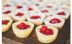 Cherry Cheesecake Bites