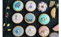 Sugar Free Lavender Cookies
