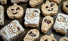 Kids Halloween Rice Crispy Treats
