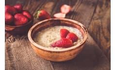 Creamy Strawberry Oatmeal