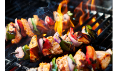 Grilled Sweet And Sour Chicken Kabobs