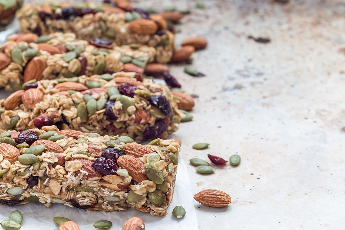 Healthy Sugar-Free Granola Bars